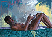 Nude Male Paintings - Waipio Gentry 10 by Douglas Simonson