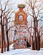 Waiting At Church Ruins  Print by Misuk  Jenkins