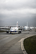Airlines Photo Originals - Waiting by Chris Smith