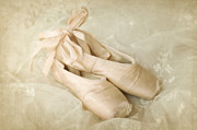 Dance Shoes Prints - Waiting Print by Dolly Genannt