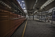 Railway Art - Waiting by Erik Brede