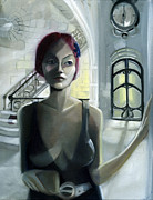Dystopian Fiction Framed Prints - Waiting for Beatriz Framed Print by Neal Cormier