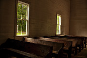 Cades Cove Photo Posters - Waiting for Sunday Poster by Andrew Soundarajan
