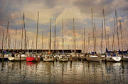 Docked Boats Framed Prints - Waiting For The Weekend Framed Print by Lois Bryan