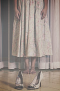 Ghostly Metal Prints - Waiting Ghost Metal Print by Joana Kruse