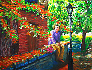 Gifts Pastels Originals - Waiting by Joemarie  Chua