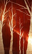 Trees Sculpture Metal Prints - Waiting on Spring Metal Print by Ellery Russell