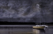 Moonlight Photos - Waiting on Wind by Robin-lee Vieira
