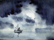 Storm Paintings - Waiting Out The Squall by Sam Sidders