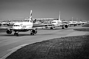 Airlines Photo Originals - Waiting-to-go by Chris Smith