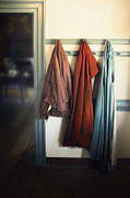 Coat Rack Photos - Waiting To Go Out by Margie Hurwich
