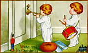 Vintage Image Posters - Wake Up Its Christmas Poster by Wake Up Its Christmas