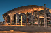 Steve Purnell Photo Metal Prints - Wales Millennium Centre Metal Print by Steve Purnell