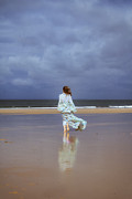 Bare Feet Photos - Walk At The Beach by Joana Kruse