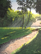 Pathway Paintings - Walk Into the Light by Norm Starks
