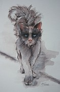 Kittens Prints - Walk on the Wildside Print by Cynthia House
