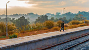 Awesome Photo Originals - Walk the rail by Girish Veetil