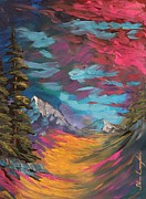 Pathway Paintings - Walking Alone by Steven Lebron Langston