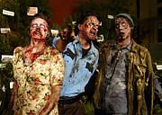 Walking Dead Print by Nina Prommer