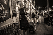 Nashville Tennessee Art - Walking in Music City by John McGraw