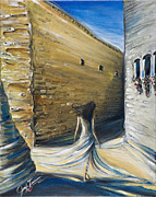 Walking Jerusalem Print by Jennifer Treece