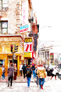 Wingsdomain Art and Photography - Walking The San Francisco Tenderloin Streets 5D19353wcstyle