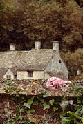 Charming Cottage Posters - Wall and Cottages Poster by Jill Battaglia