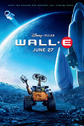 Vintage Posters Art - Wall-E Poster by Sanely Great