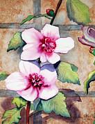 Wall Flowers Print by Flamingo Graphix John Ellis