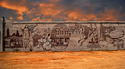 Schools Photo Originals - Wall Mural At El Campo City Texas by Arco Montufar
