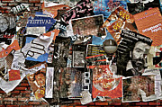 Advertisements Prints - Wall Of Babel Print by Odd Jeppesen