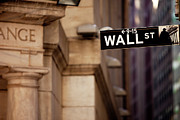 Nyse Photos - Wall Street by Brian Jannsen