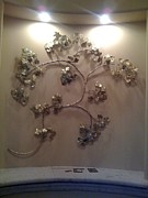 Autumn Sculpture Originals - Wall Vine by Kelly Smith Cassidy