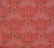 Wallpaper Design Print by Victorian Voysey