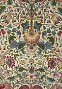 Featured Tapestries - Textiles Metal Prints - Wallpaper Design Metal Print by William Morris