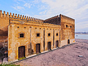 Kasbah Des Oudaias Prints - Walls of Kasbah of the Udayas in Rabat Print by Karol Kozlowski