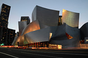 Frank Gehry Framed Prints - Walt Disney Concert Hall 21 Framed Print by Bob Christopher