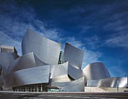 Hall Digital Art Prints - Walt Disney Concert Hall Print by Carol Highsmith