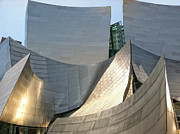 Hall Digital Art Prints - Walt Disney Concert Hall Print by Lynn Andrews