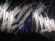 Magical Prints - Walt Disney World Resort - Magic Kingdom - 121288 Print by DC Photographer