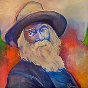 Walt Whitman Metal Prints - Walt Whitman Metal Print by Robert Lacy