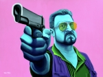Big Lebowski Metal Prints - Walter  Metal Print by Ellen Patton