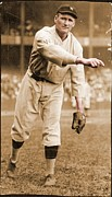 League Metal Prints - Walter Johnson Poster Metal Print by Sanely Great