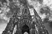 Space Art - Walter Scott Monument by Jason Politte