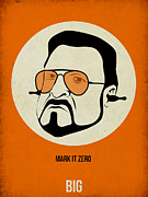Famous Actors Posters Framed Prints - Walter Sobchak Poster Framed Print by Irina  March