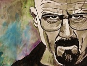Show Mixed Media - Walter White by Jeremy Moore