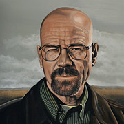 Walter White Print by Paul  Meijering