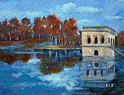 Waltham Prints - Waltham Reservoir Print by Rita Brown