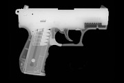 Assault Rifle Prints - Walther P22 Reverse Print by Ray Gunz