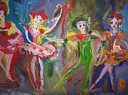 Waltz Paintings - Waltz this way by Judith Desrosiers